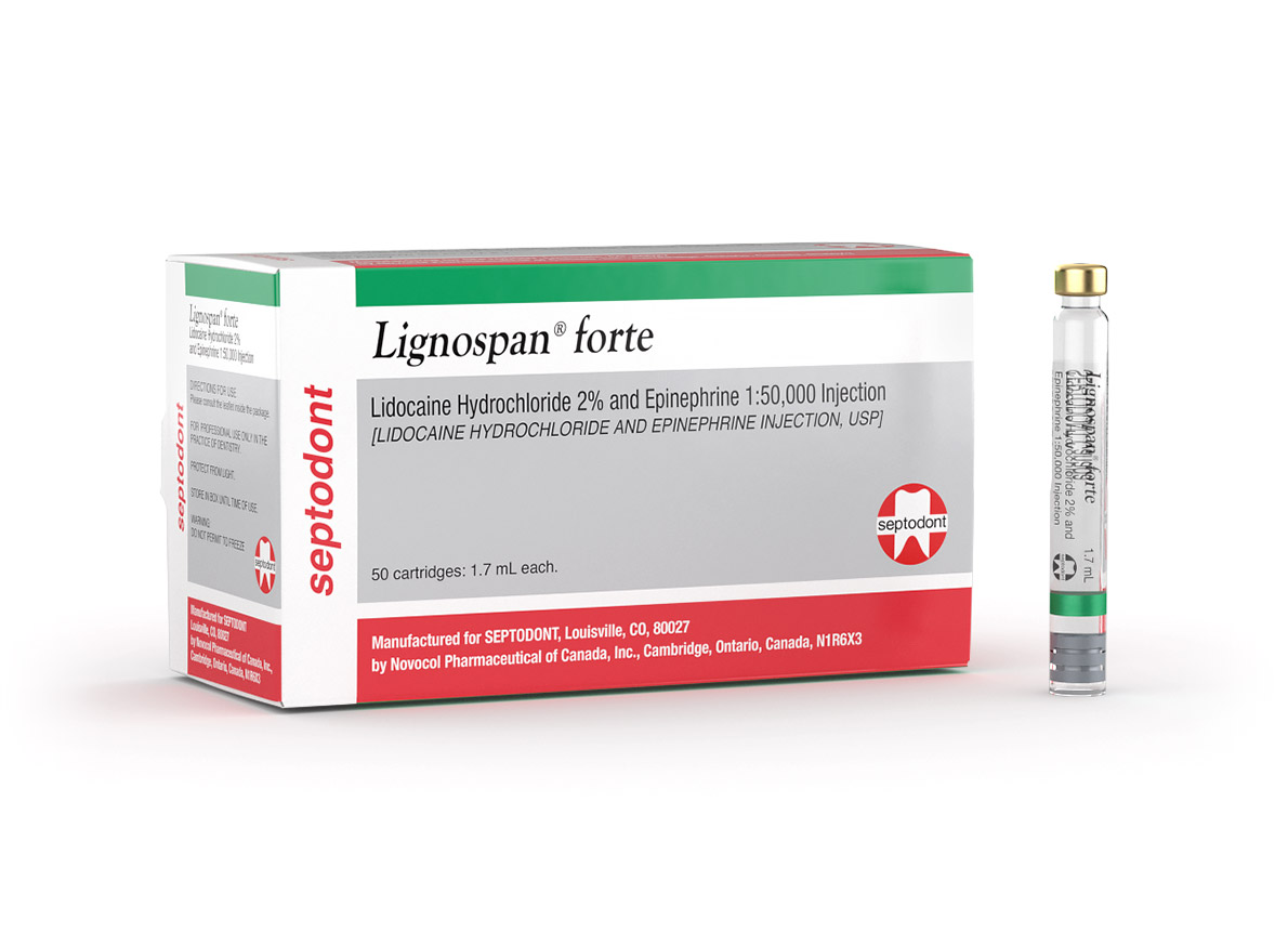 Lignospan® forte